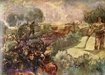 Врубель М.А. Полдень. 1897-1898. Декоративное панно для дома С.Т. Морозова в Москве. Фрагмент