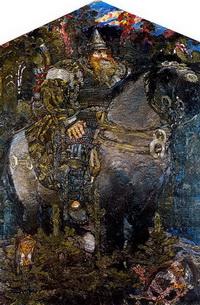 Богатырь (Холст, масло. 1898 г.)