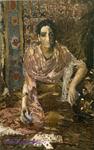 Врубель М.А. Гадалка. 1895. Холст, масло. 135,5х86,5. ГТГ
