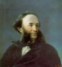 Портрет И.К. Айвазовского