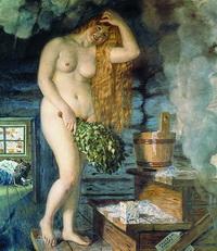 Русская Венера (Б. Кустодиев)