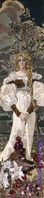 """1896 Врубель М.А. """"Триптих. Фауст. Маргарита."""""""