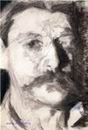 Врубель М.А. Автопортрет. 1904. Бумага, уголь, карандаш. 25,3х17,4. ГРМ