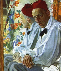 Портрет В.Э. Мейерхольда (А.Я. Головин, 1917 г.)