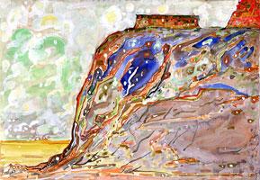 Картина, выполненная гуашевой техникой