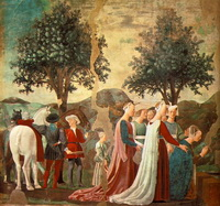 Прибытие царицы Савской к царю Соломону (П. делла Франческа)