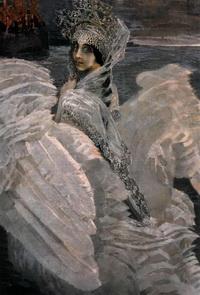 Царевна-Лебедь (Холст, масло. 1900 г.)