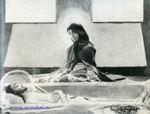 Врубель М.А. Надгробный плач. Эскиз для неосуществленной росписи Владимирского собора в Киеве. Третий вариант. 1887