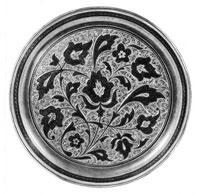 Гравюра на серебре с чернением
