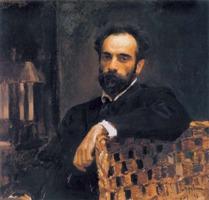 Портрет художника И.И.Левитан