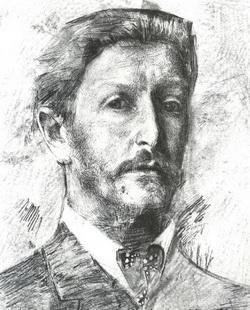Михаил Александрович Врубель (Автопортрет 1904 г.)