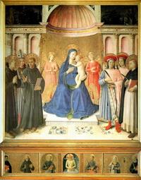 Алтарь Боско а Фрати (Фра Анжелико, 1450 г.)