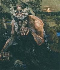 Пан (Холст, масло. 1899 г.)