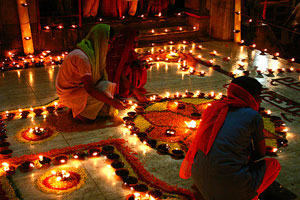 Индуисткий праздник Дивали