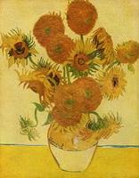 Натюрморт с подсолнухами (В. ван Гог, 1888 г.)